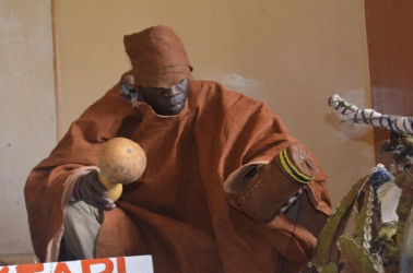 Meet witchdoctor who sends bees to attack thieves into confession