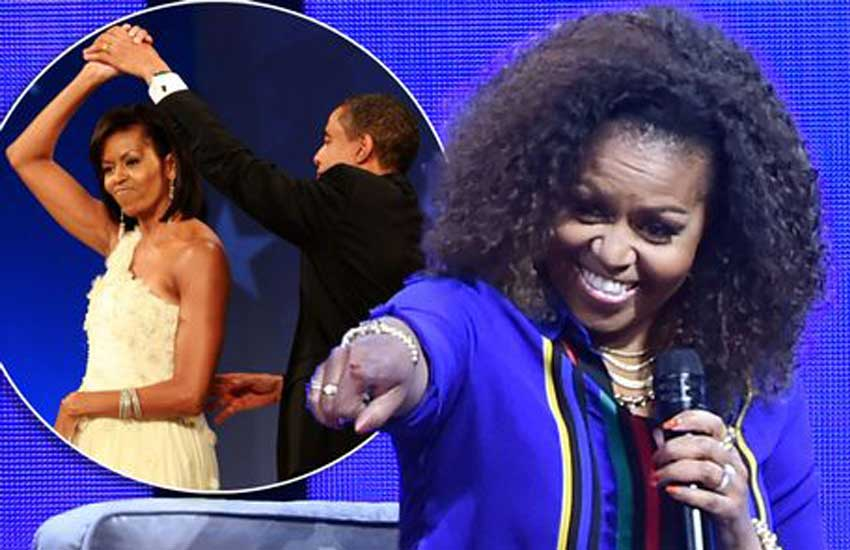 Michelle Obama recalls wild alcohol-fuelled, knicker-flashing White House parties