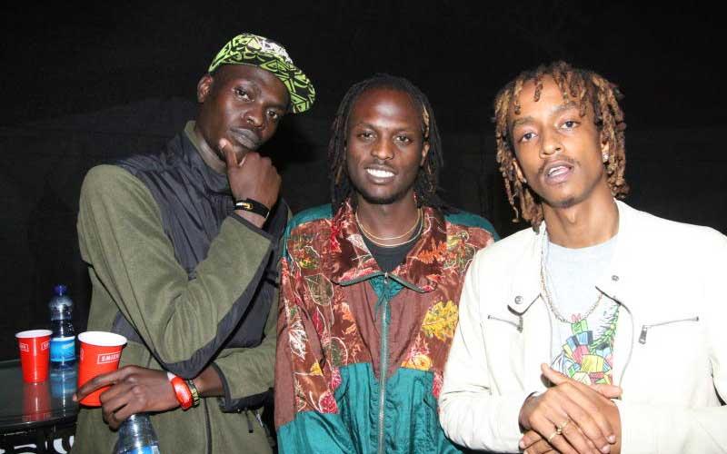 Brian Muembe, Musau Mumo and Boutross Munene