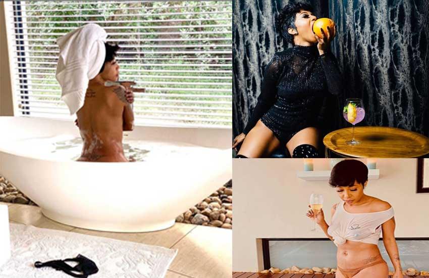 My choices, my life: SA Singer Kelly defends racy bath tub photos