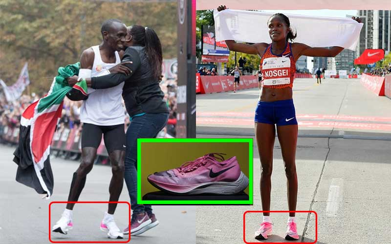 Nike Vaporfly: Why shoe worn by Kipchoge, Kosgei in record runs faces ban