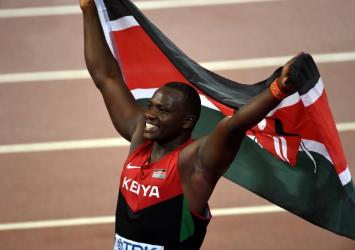 No Yego, No Olympics: Drama at JKIA as athletes refuse to board plane without Julius Yego