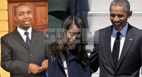 "Obama's big ""No please"" to lawyer Kiprono who offered 50 cows to marry Malia"