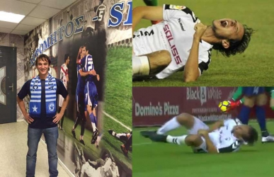 Ouch: Player gets 10 stitches on his manhood after horrific collision