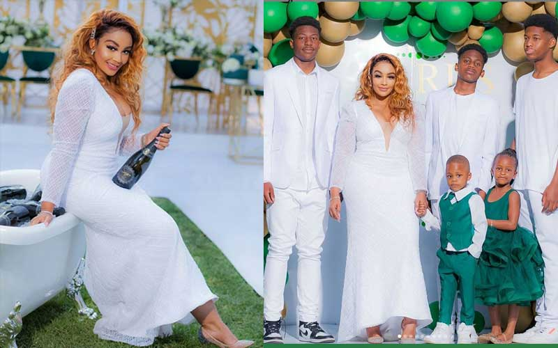 PHOTOS: How Zari Hassan turned 40 in style