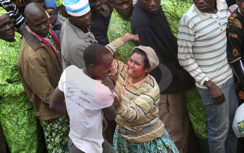 PHOTOS: Kawangware church where latecomers are slapped, whipped