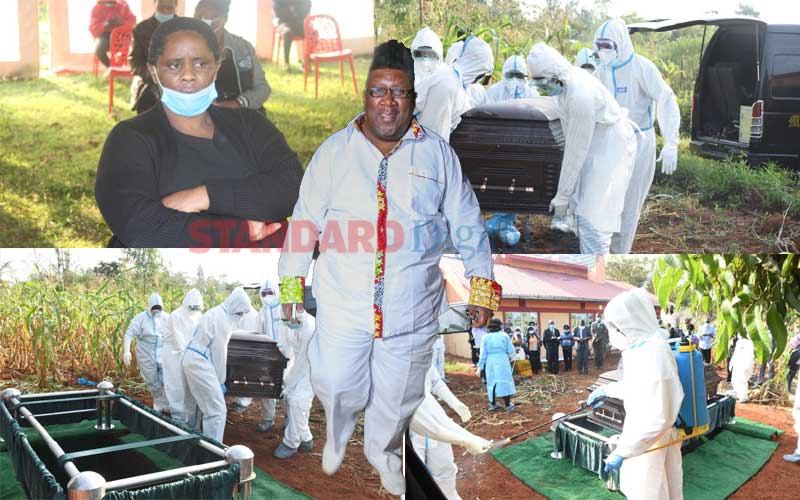 PHOTOS: Papa Shirandula laid to rest in Busia County