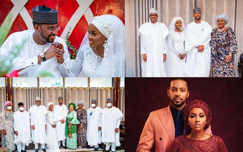 PHOTOS: President Buhari's daughter weds in beautiful ceremony
