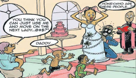 Poop hits the fan as Vihiga woman attacks estranged husband with cow dung at his secret wedding