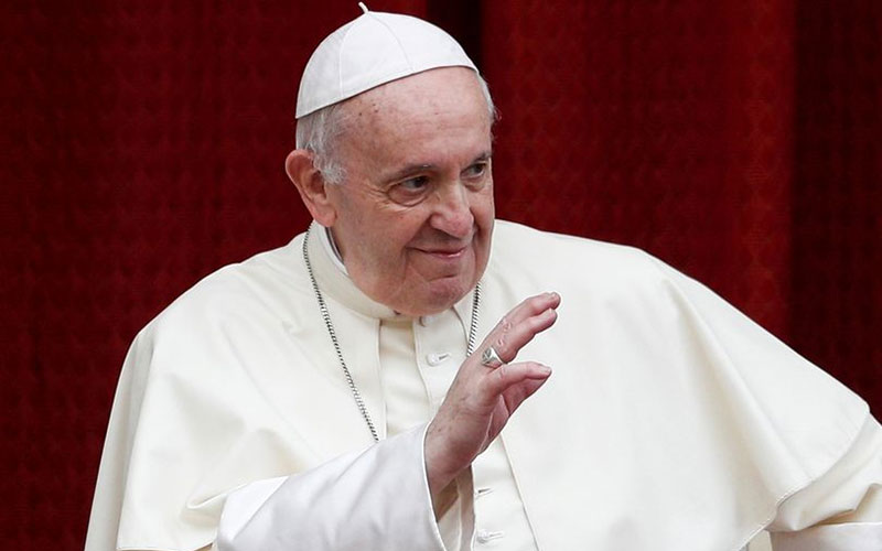 Pope Francis labels gossiping a 'worse plague' than coronavirus