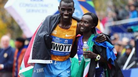President Uhuru and DP William Ruto congratulate Mary Keitany, Stanley Biwott on winning NY Marathon