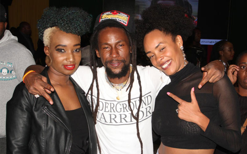 Jah Cure 'Royal Soldiers' album launch at Kiza Lounge