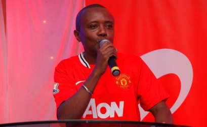 For the love of the game: Maina Kageni receives flashy car from Manchester United club!