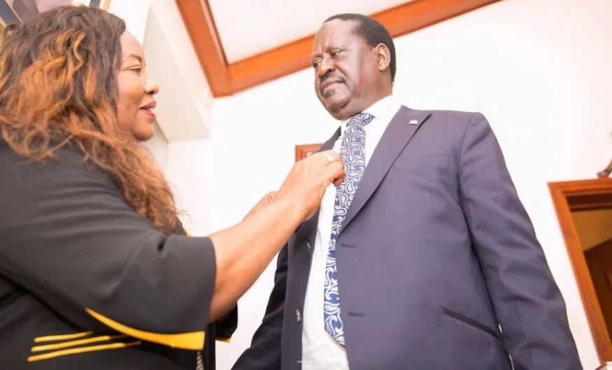 Raila Odinga's sweet birthday message to wife Ida