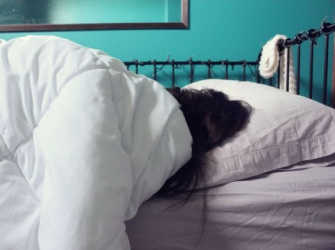 Randy father-in-law sneaks into son's bedroom, fondles sleeping wife
