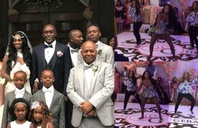 Real Housewives Of Atlanta actress dance moves at her Kenyan wedding lights up social media