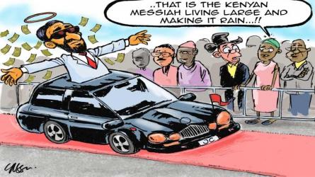 Riswa! Shetani Ashindwe: If only Jesus was a Kenyan pastor