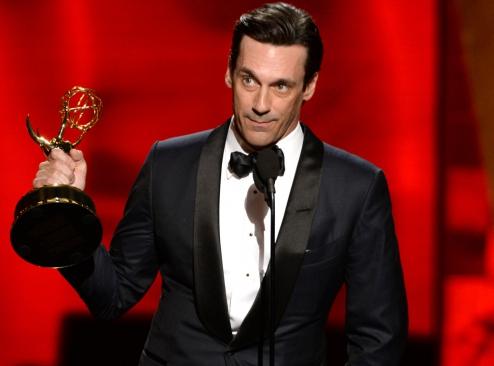 Emmy Award winner Jon Hamm