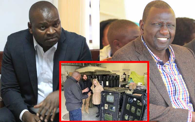 Sh39 billion fake arms scam: Ruto admits to a 23-minute meeting at his office