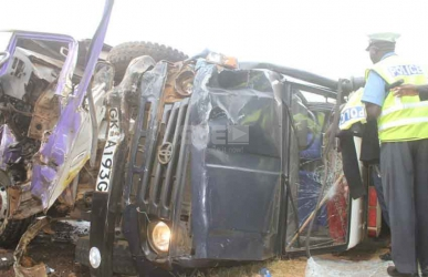 Six injured in accident involving Uhuru's motorcade