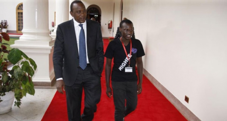 Students think I am rich just because I am President Uhuru's son