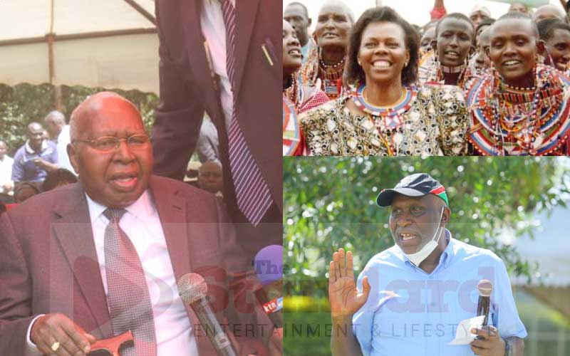 The Nyachaes have a legacy of milling maize