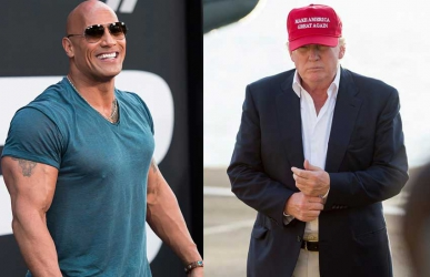 The Rock to run against President Donald Trump in 2020?