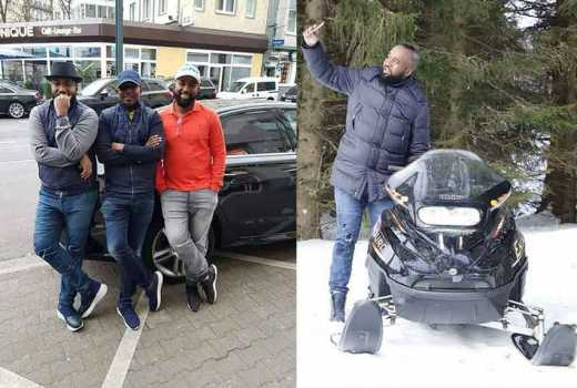 001: Joho jets in from Estonia, flies out to Madrid, Spain