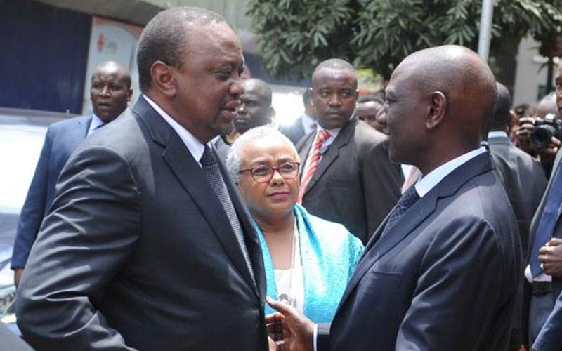 Airport drama: Uhuru men order pictures with Ruto ally to be deleted