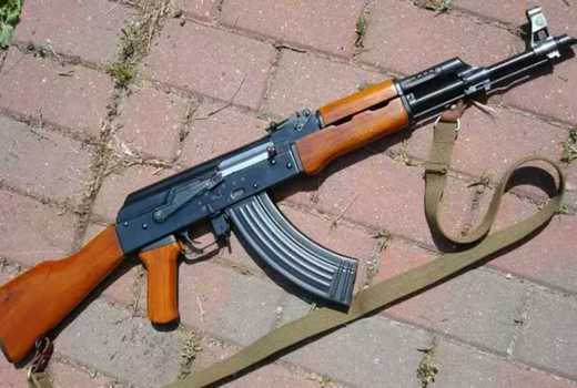 AP officer turns AK-47 on self over husband's text from mpango