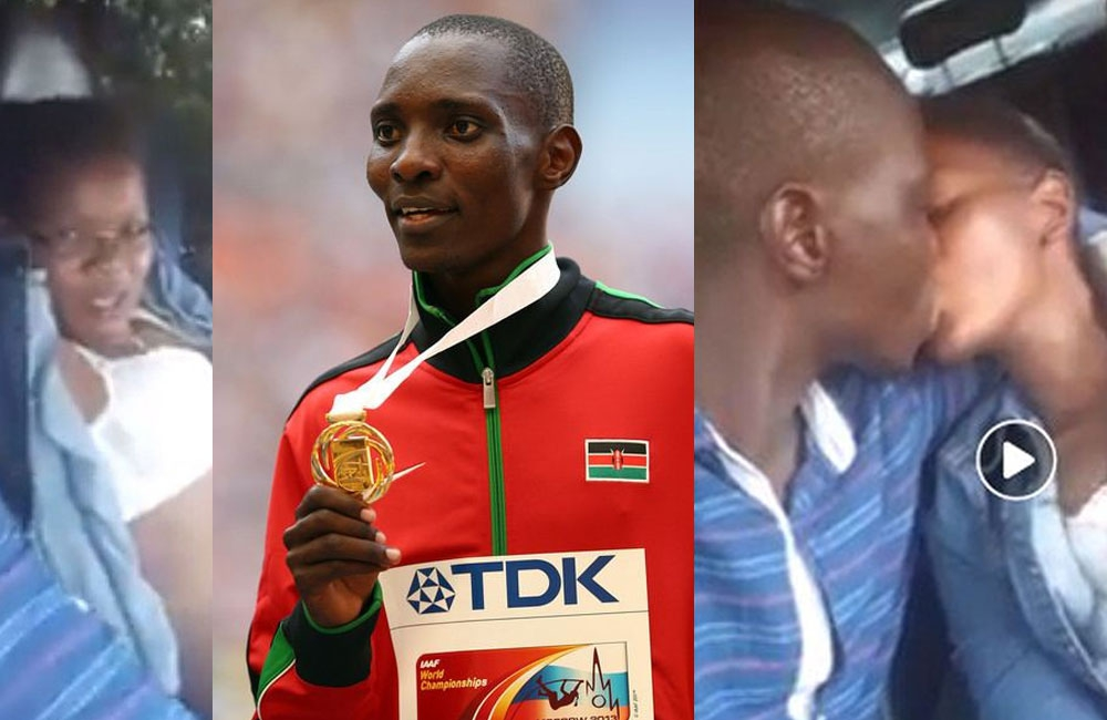 Athlete Asbel Kiprop says woman in damning video cost him his career, family