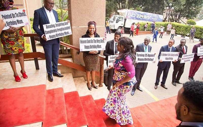 Ati mum? Kathy Kiuna's birthday celebrations spark debate