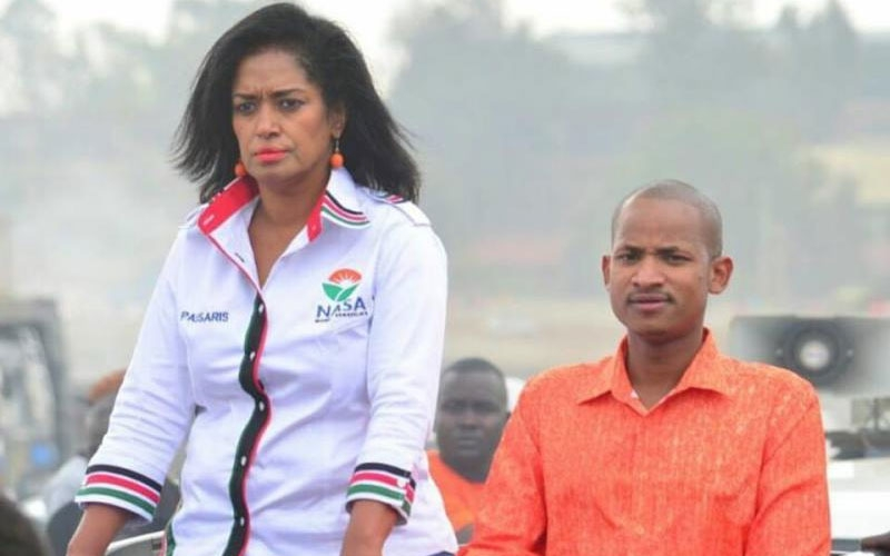 Babu Owino, Passaris trade insults on social media