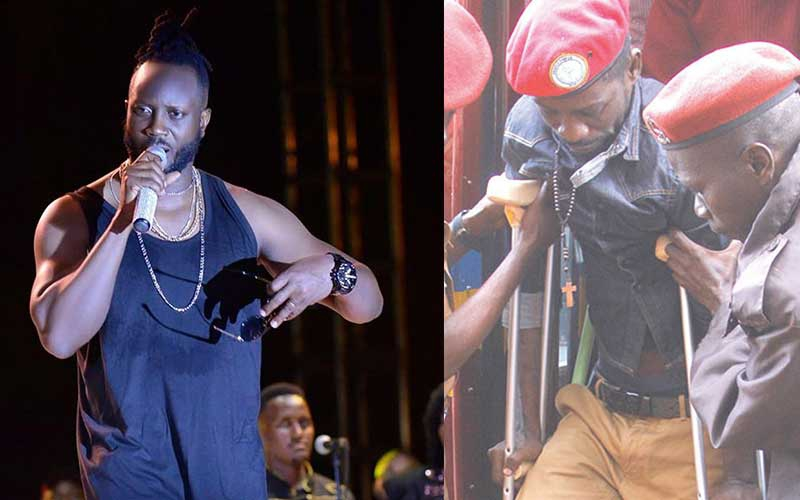 Bebe Cool takes break after backlash over comments Bobi Wine is faking injuries