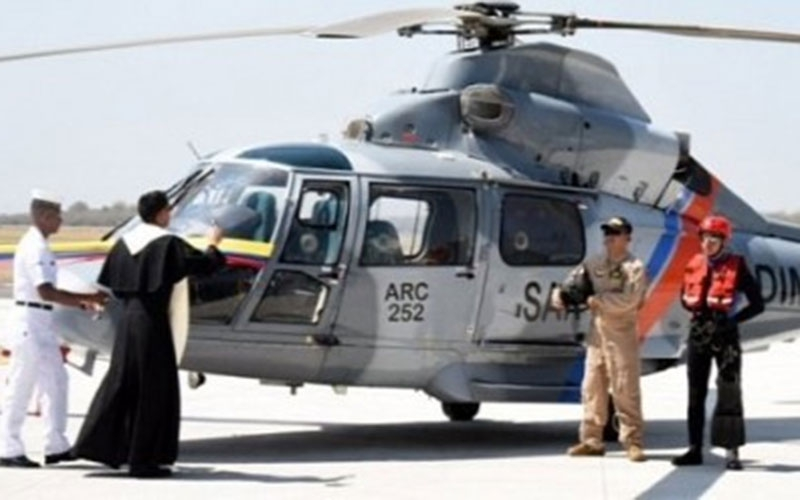 Bishop to exorcise city by sprinkling holy water from helicopter