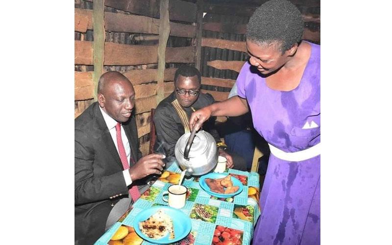 Bwana DP Ruto, enough of dingy food kiosk photo ops