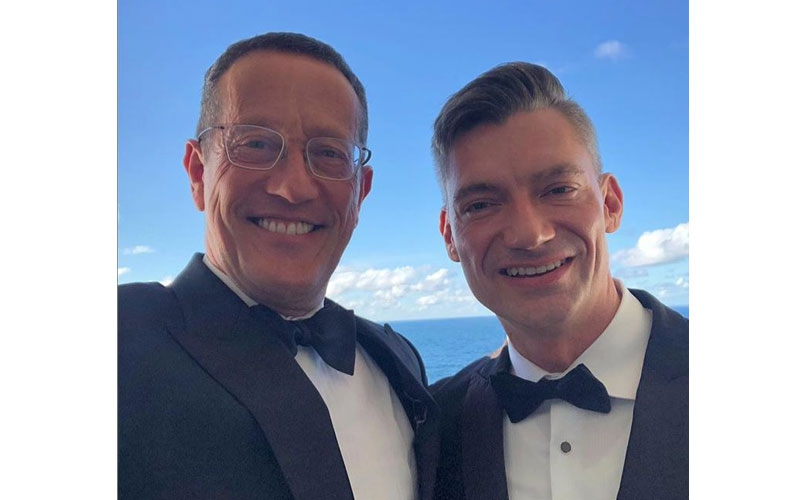 CNN's Richard Quest proposes to gay lover