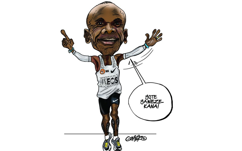 Congrats Kipchoge, but now don't you dare join politics