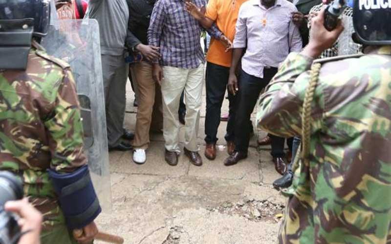 Daring teacher captured caning policeman in viral video speaks