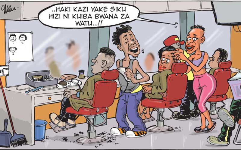 Difference between a Kenyan beauty parlour and the 'saloon'