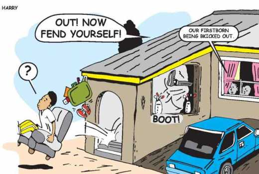 Drama as man disowns son, wife over poor class performance