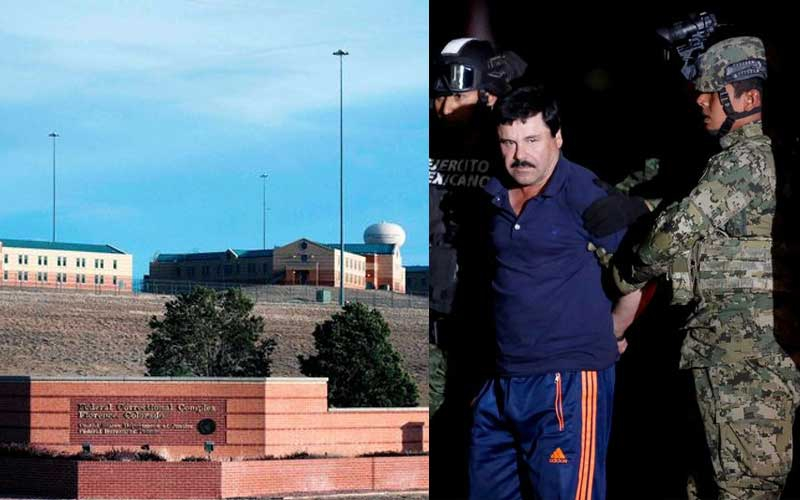 El Chapo flown to supermax prison under armed guard to serve life sentence