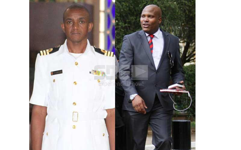 Embarrassing: President Uhuru's PA, aide-de-camp in protocol hitch