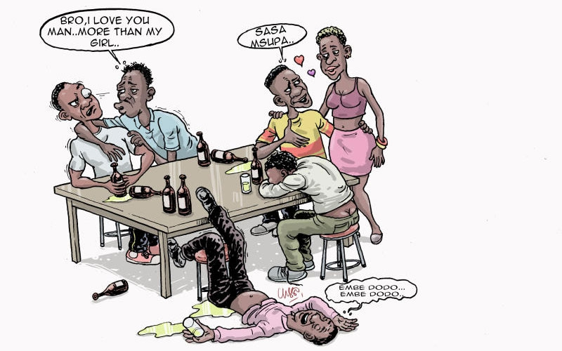 Emotional drunk: Seven types of drunks you will find at Kenyan watering holes