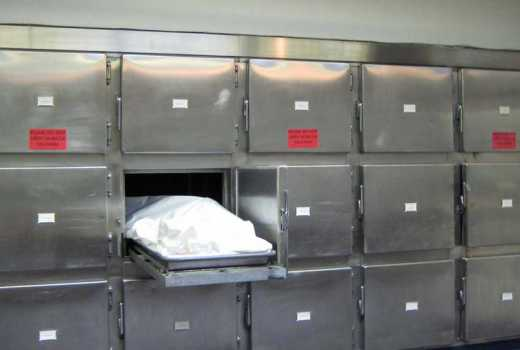 Burial in disarray after corpse disappears from a morgue