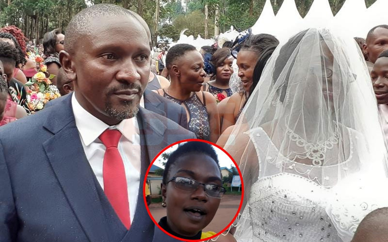 First wife stops MCA's wedding, demands share of property acquired together
