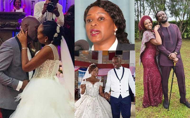 Five Kenyan celebrities who wedded in 2019