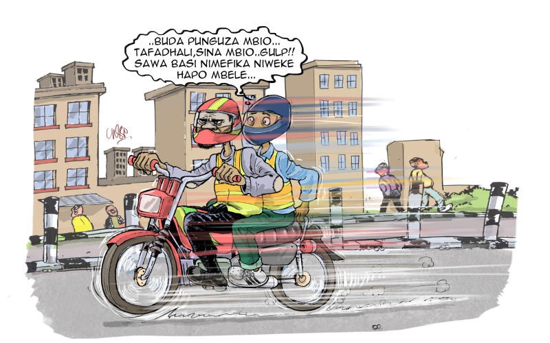 Four types of boda boda riders you will find on Kenyan roads