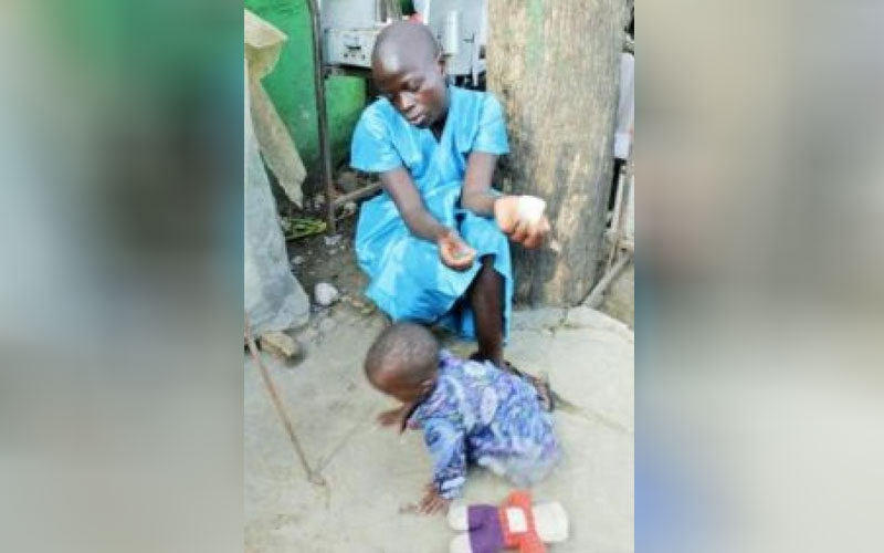 Girl disowned for being pregnant lives on Nakuru streets with child