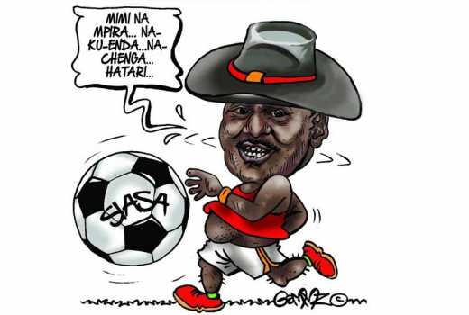 Has Raila discovered he can't be President, now just playing spoiler?